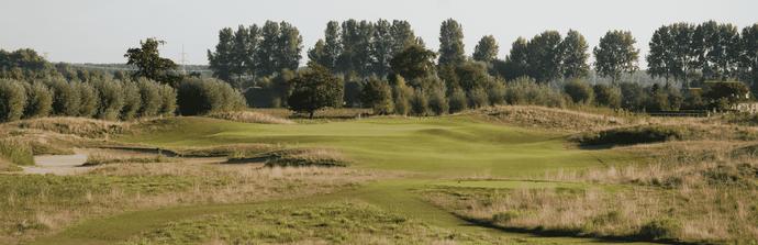 Zorg voor de golfbaan