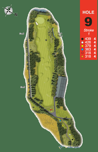 Hole 9 : The White Willow (Salix)