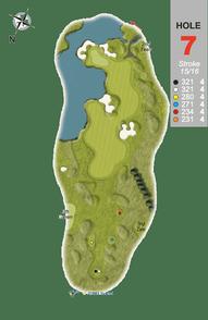 Hole 7 : Ragged-Robbin (Silene Flos-Cuculi)